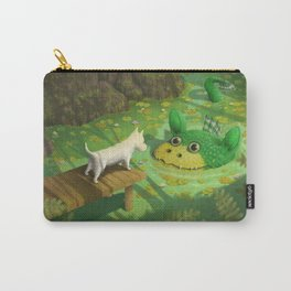 Encounter at the Pond Carry-All Pouch