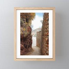 The Way to Greece V Framed Mini Art Print