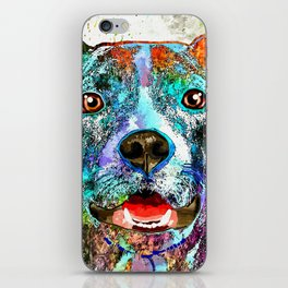 American Pit Bull Terrier iPhone Skin