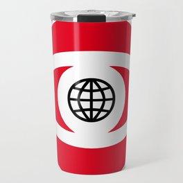 Illustrated new year wishes: #9 SEE WORLD Travel Mug
