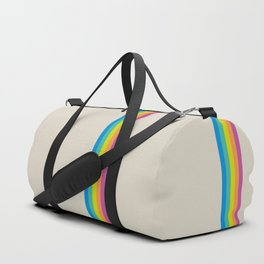 Rainbow - vintage photo Duffle Bag