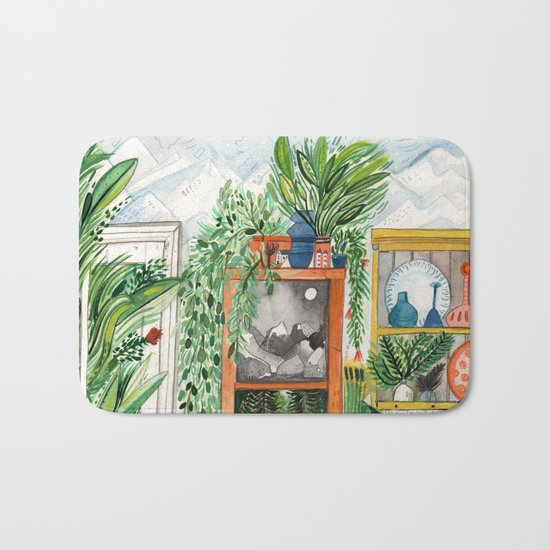 The Jungle Room Bath Mat