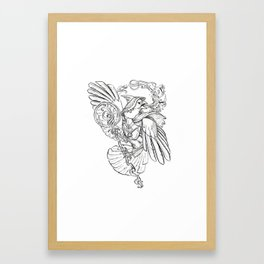 Song of The Mothers Framed Art Print