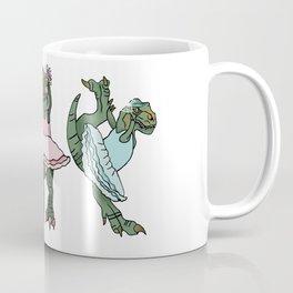 The Ballerina Dinosaurs Coffee Mug