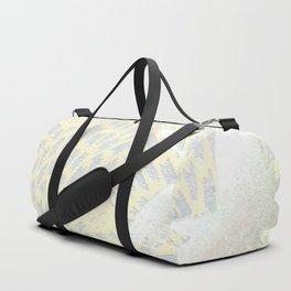 Sumi Print - Powder Blue with Cranes Duffle Bag