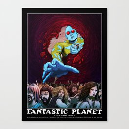 FANTASTIC PLANET  - THE HAND OF TERROR Canvas Print