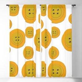 Big Buttons Little Buttons Blackout Curtain