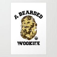 A Bearded Wookiee Art Print