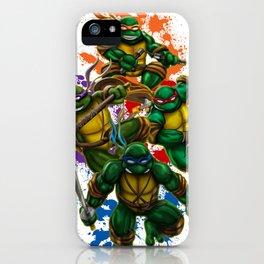 Teenage Mutant Ninja Turtles iPhone Case
