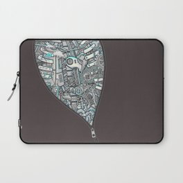 Crazy on the Inside Laptop Sleeve