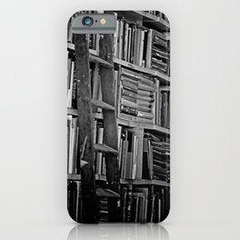 Book Shelves iPhone Case