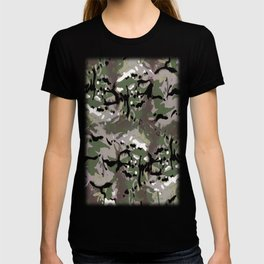 Camo Camo, and the art of disappearing. T-shirt