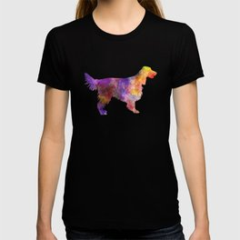 Irish Red Setter 01 in watercolor T-shirt
