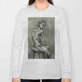 Alice V Schneider Figure Long Sleeve T-shirt