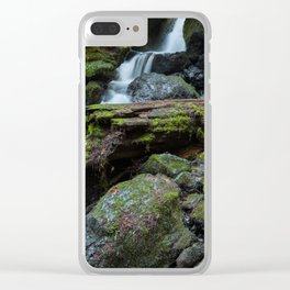 Separate But One Clear iPhone Case