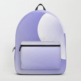 Wave, in white and purple Backpack