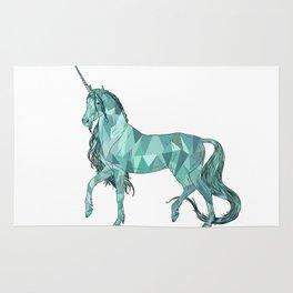 Unicorn prism Rug