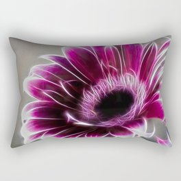 Gerbera Fractalius Rectangular Pillow