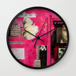 St. Thereses de Lisieux Wall Clock