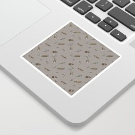 Smoky cigar pattern Sticker