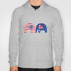 U.S.-Australia Friendship Elephants Hoody
