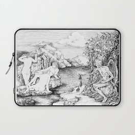 3 women bathing Laptop Sleeve