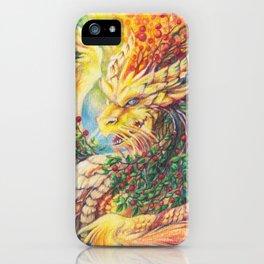 Mountain-ash iPhone Case