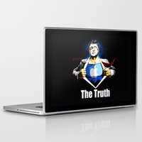 true blood Laptop & iPad Skins featuring True by Tony Vazquez