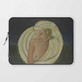 Sacred Moon Woman (Inaru Cu Caraya Laptop Sleeve