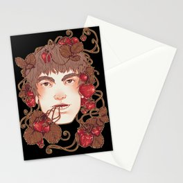 Strawberry Boy Stationery Cards