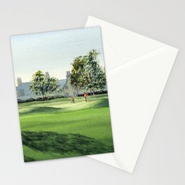 Winged Foot Golf Course New York Stationery Cards