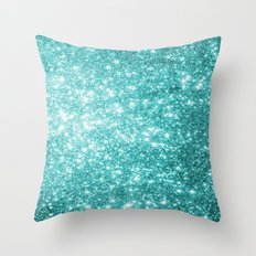 Mint Dream Throw Pillow