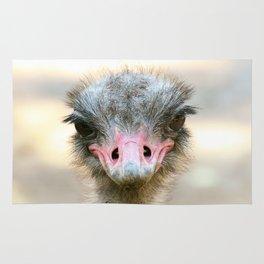 Whaddup? Ostrich Rug