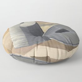Mineral Objects (1935) by Paul Nash. Floor Pillow