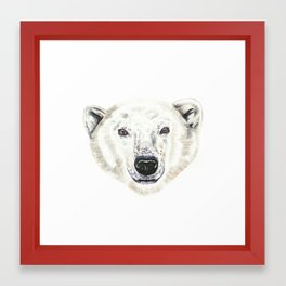 Polar Bear! Framed Art Print