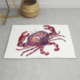 Purple Cancer Zodiac Rug