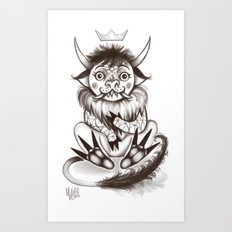 My little wild thing.  Art Print