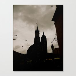 Wings Over Krakow Canvas Print