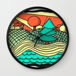 British Columbia in a Nutshell Wall Clock