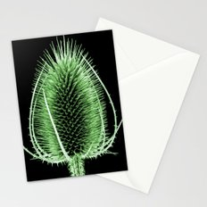 Green Teasel Stationery Cards