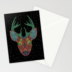 Intergalactic Deer Stationery Cards
