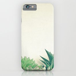 Succulent Forest iPhone Case