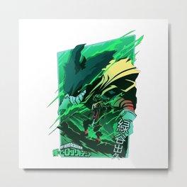 deku Metal Print