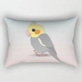 Cute cockatiel Rectangular Pillow
