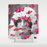 feet Shower Curtains featuring Hot Feet by Tyler Spangler