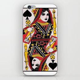 play with the Queen iPhone Skin