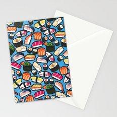 Sushi Blue Stationery Cards