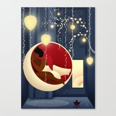 Bubble Chair Canvas Print