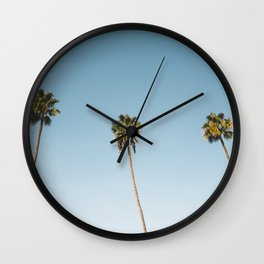 Socal Summer Wall Clock