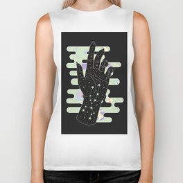 Taurus - Zodiac Constellation Illustration Biker Tank